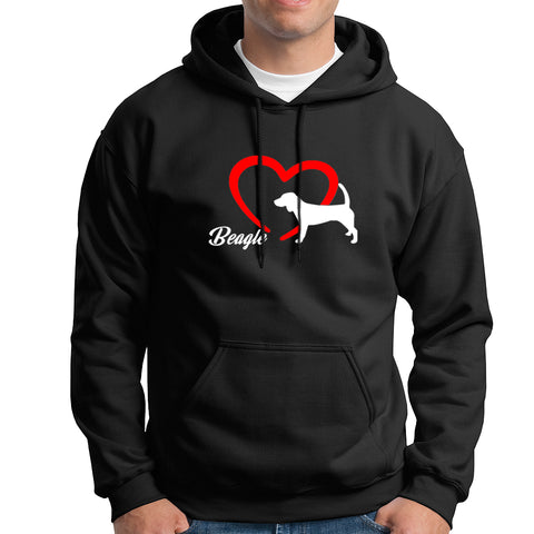 Beagle Love Hoodies For Men Online India
