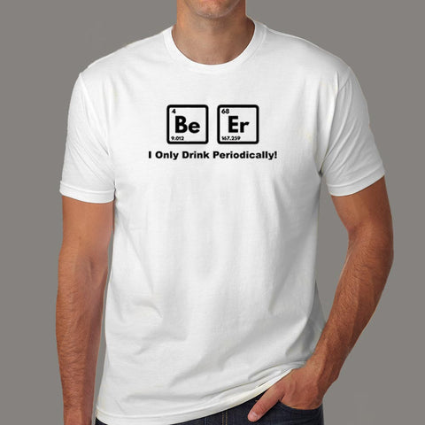Beer Elements Periodic Table T-Shirt For Men Online India