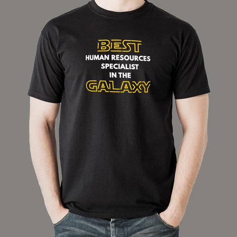 Best Human Resources Specialist In The Galaxy T-Shirt For Men India