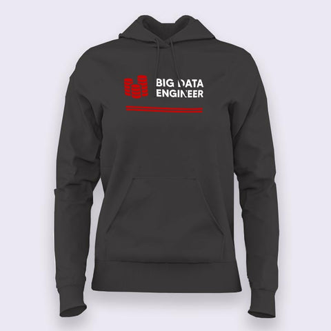 Big Data Engineer Women's Profession Hoodies India