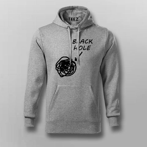 Funny Black Holes Men's Science Hoodies Online India