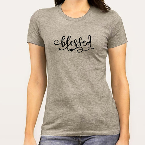 Blessed  Women's Christian T-shirt