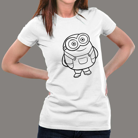 Bob The Minion Women's T-Shirt india