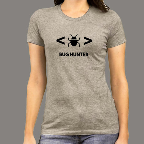 Bug Hunter Software Test Engineer T-Shirt For Women