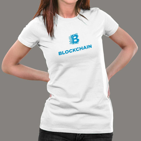 Blockchain Women's Bitcoin Profession T-Shirt