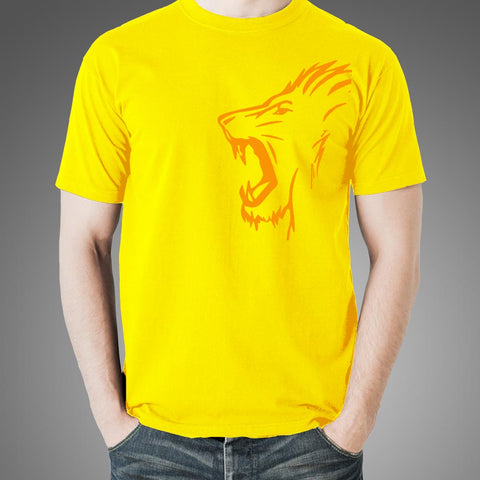 CSK Roar Men's Yellow T-shirt Online India