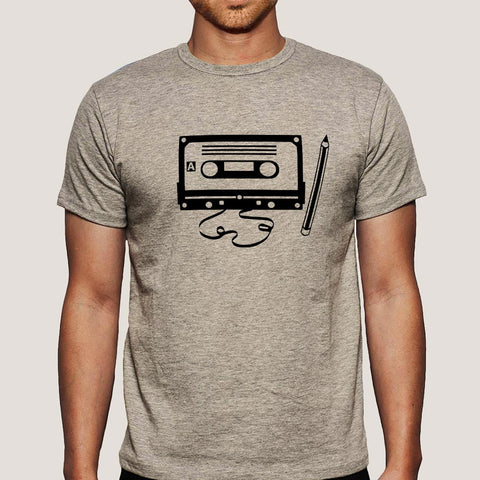 Cassette & Pencil Men's T-shirt
