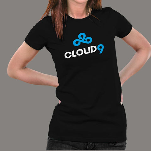 Cloud 9 Women's T-Shirt Online India
