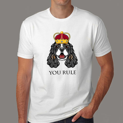 Cocker Spaniel T-Shirt For Men Online India
