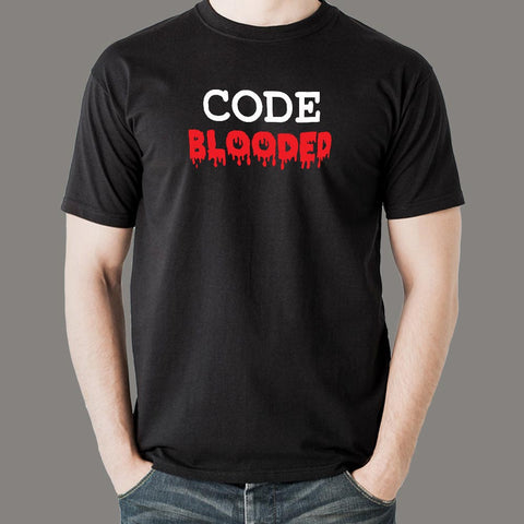 Code Blooded T-Shirt For Men
