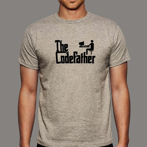 The Codefather Funny Programmer Men's T-Shirt online india