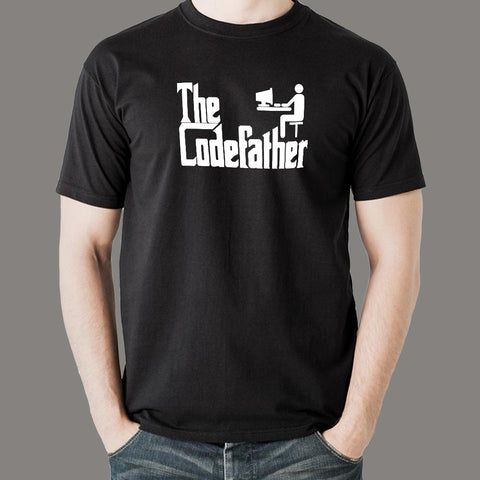 The Code Father Funny Programmer T-Shirt