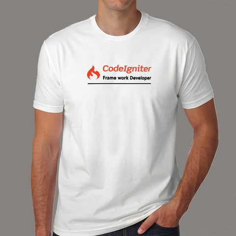 CodeIgniter Framework Developer Men's Profession T-Shirt Online India