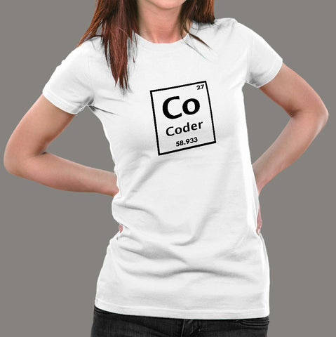 I Am A Chemical Element Funny Periodic Table Of Coder Women's T-Shirt