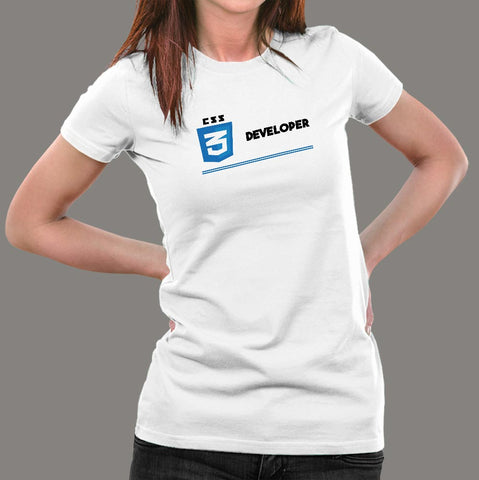 Css Developer Women's Profession T-Shirt Online India