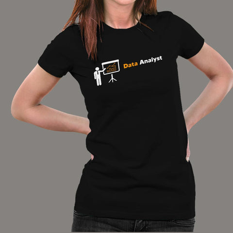 Data Analyst T-Shirt For Women Online India