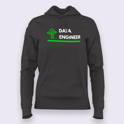 Data Engineer Profession Women's Hoodie Online India
