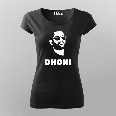 Dhoni T-shirt For Women Online India