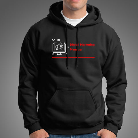 Digital Marketing Manager Men's Profession Hoodie Online