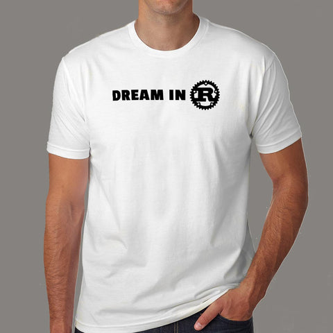 Dream In Rust T-Shirt For Men Online India