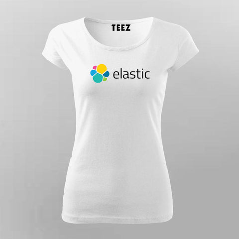 Elasticsearch T-Shirt For Women Online India