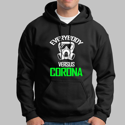 Everybody Vs Corona Virus Hoodies For Men Online India