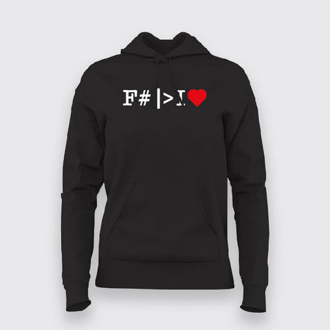 F Sharp Hoodies For Women Online India