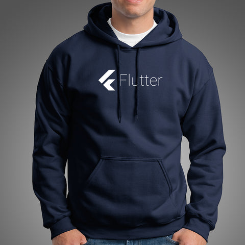 Flutter Men's Programming Hoodie India
