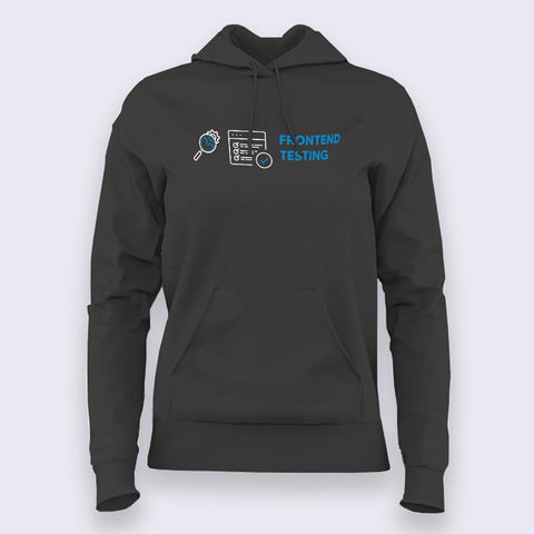 Frontend Testing Women's Profession Hoodies Online India