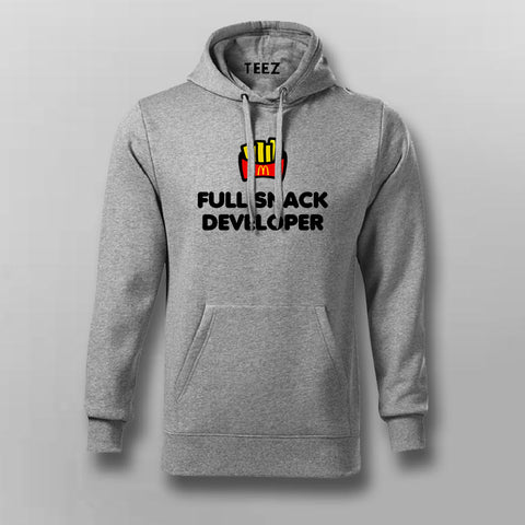 Full Snack Developer Hoodies For Men Online India