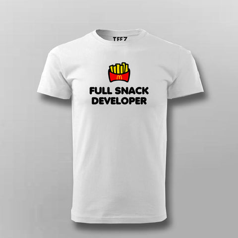Full Snack Developer T-Shirt For Men Online India