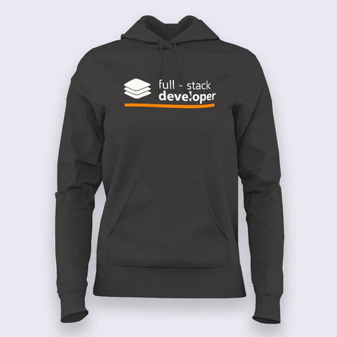 Full Stack Developer Hoodies For Women Online India