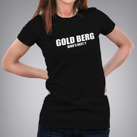 Goldberg Who's Next WWE Women's T-shirt online