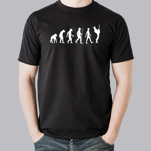 Guitarist Evolution Men's T-shirt