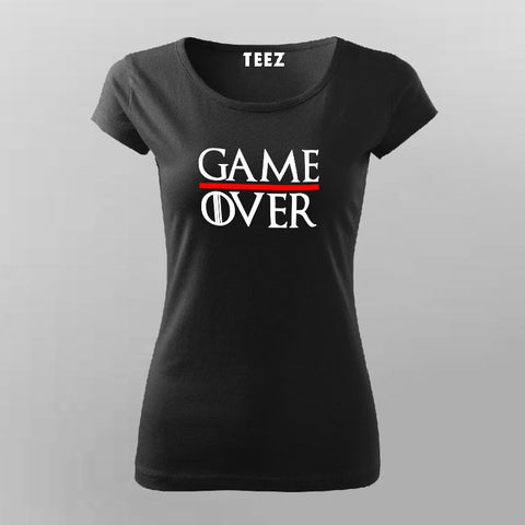 Game Over T-Shirt For Women