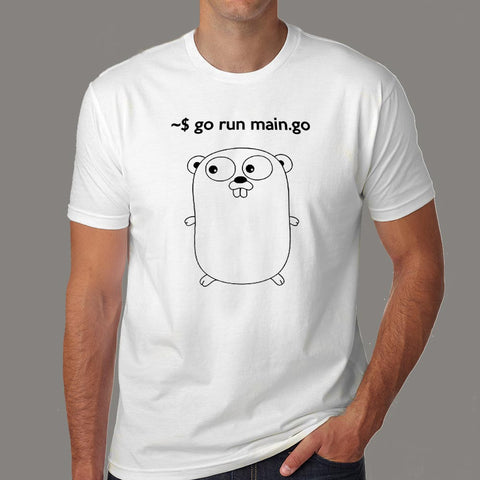 Funny Golang T-Shirt For Men Online India