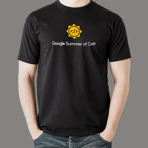 Google Summer Of Code GSoC T-Shirt For Men Online India