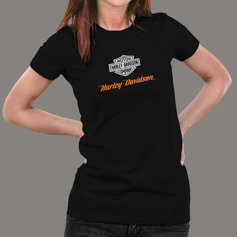 Harley Davidson T-Shirt For Women Online India