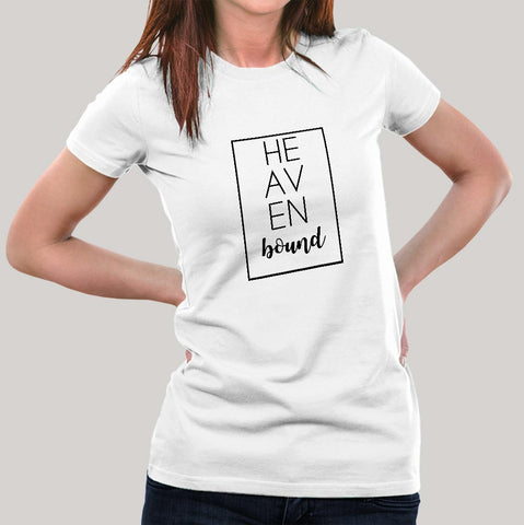 Heaven Bound Women's Christian T-shirt