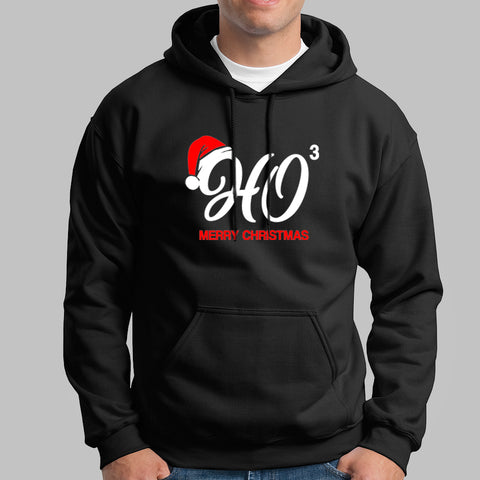 HO HO HO Santa's Laugh Men's Christmas Hoodies India