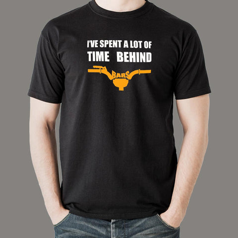 I Have Spend A Lot Of Time Behind Bars T-Shirt For Men Online India