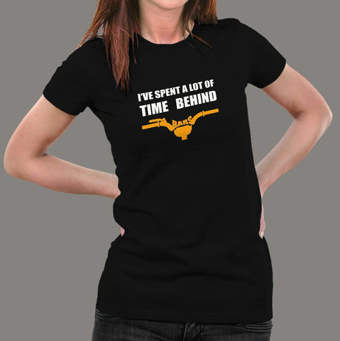 I Have Spend A Lot Of Time Behind Bars T-Shirt For Women Online India