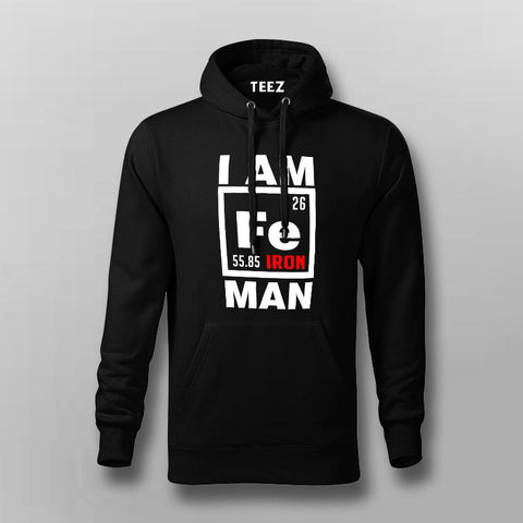 I Am Iron Man Hoodies For Men