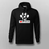 I Love Rottweiler Hoodies For Men Online India