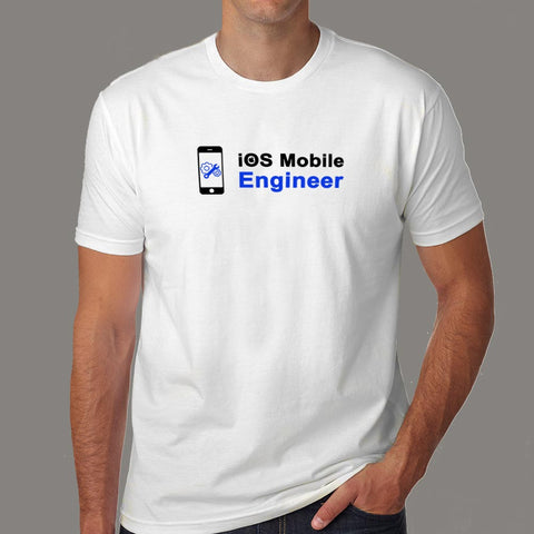 Ios Mobile Engineer Men's Profession T-Shirt Online India
