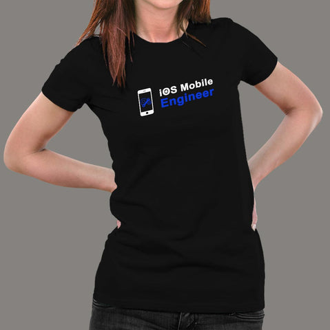 Ios Mobile Engineer Women's Profession T-Shirt India