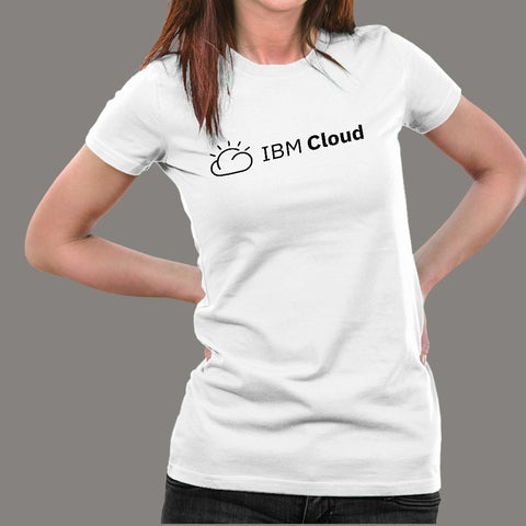 IBM Cloud Women's Technology T-Shirt Online India