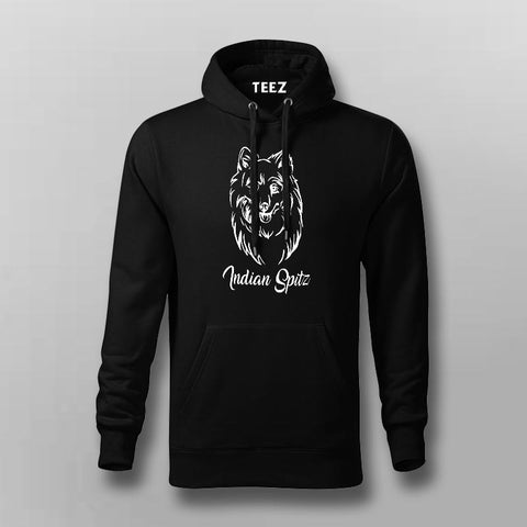 Indian Spitz Hoodies For Men