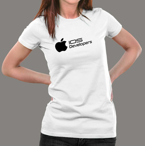Ios Developers T-Shirt For Women