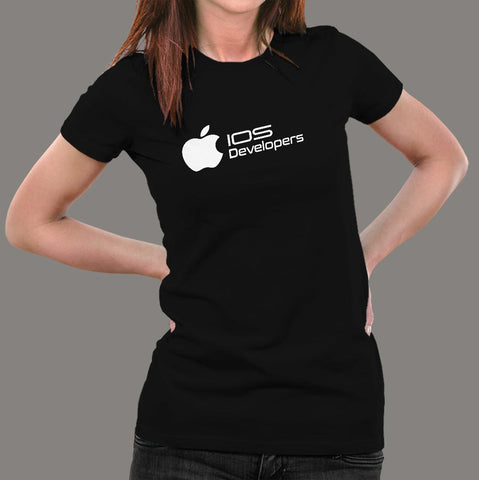 Ios Developers T-Shirt For Women Online India